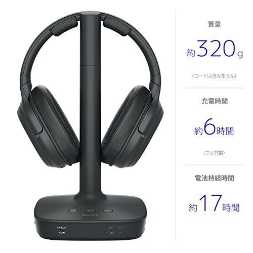SONY(ソニー) デジタルサラウンドヘッドホンシステム WH-L600の商品画像6