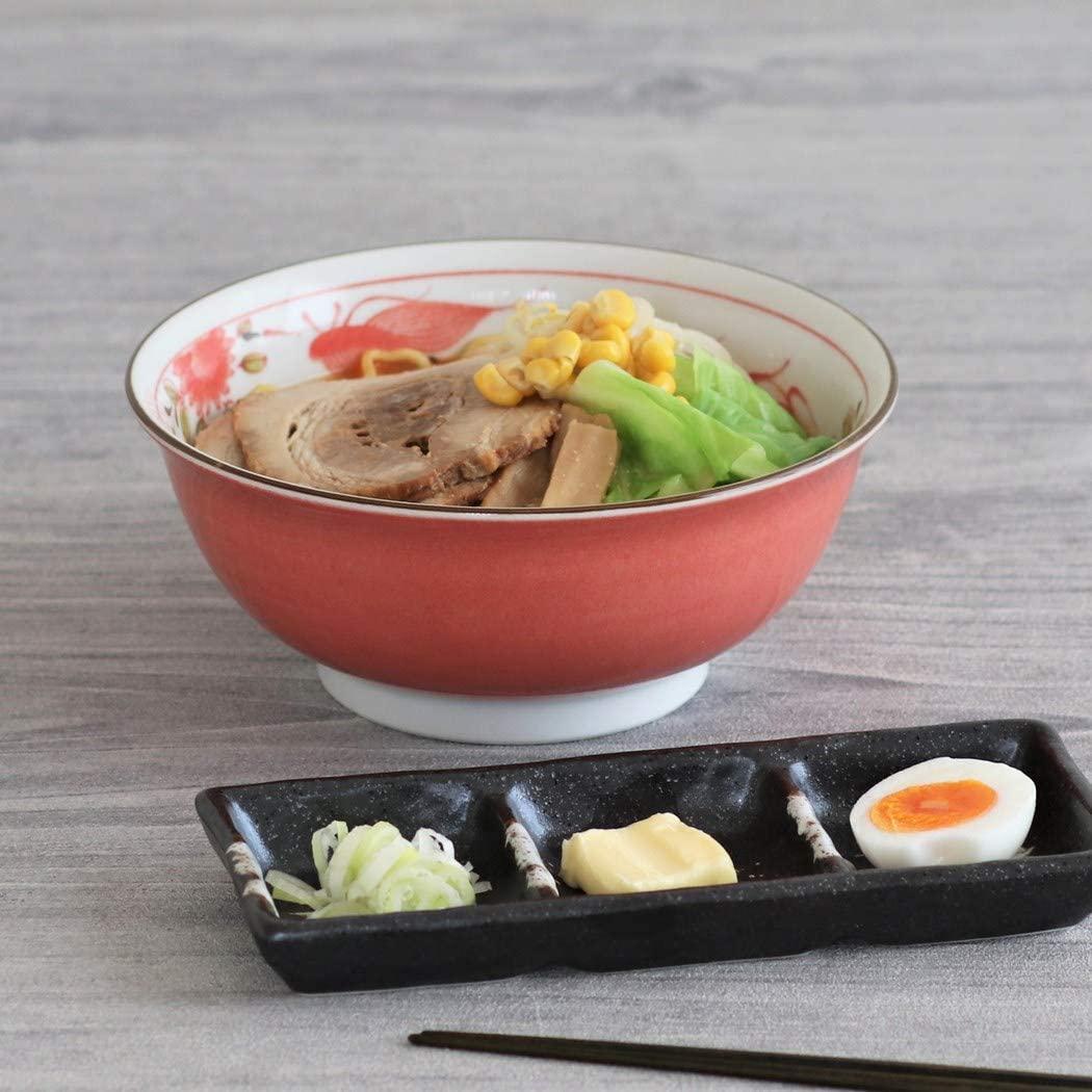 みのる陶器 赤巻ラーメン丼 6.3寸の商品画像3