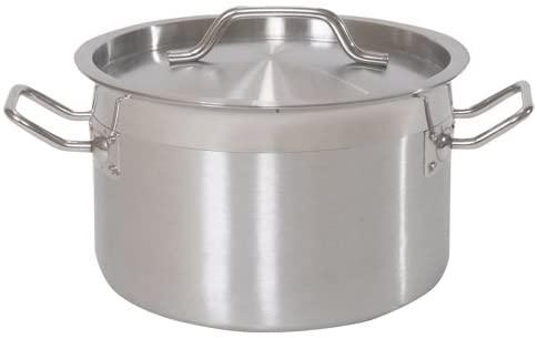 ダイシンショウジ 業務用ステンレス半寸胴鍋 (IH対応)30cmの商品画像