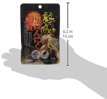 ORIHIRO(オリヒロ) 熟成黒にんにく卵黄カプセルの商品画像5