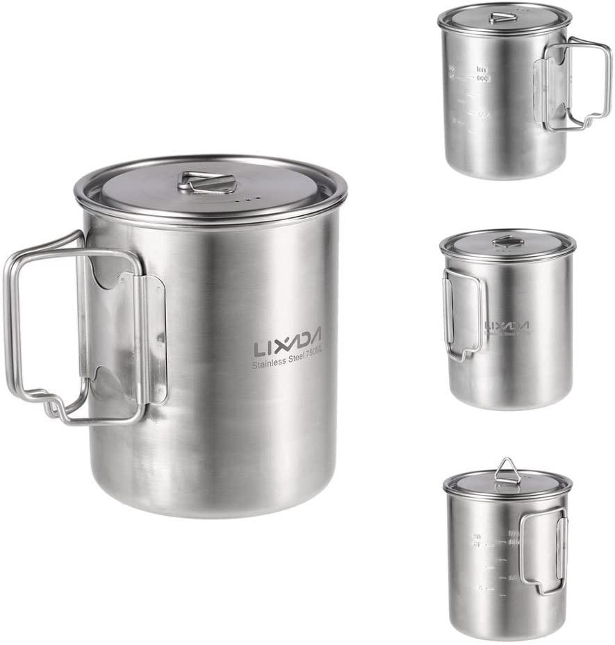 Lixada(リクサダ) チタンカップの商品画像2