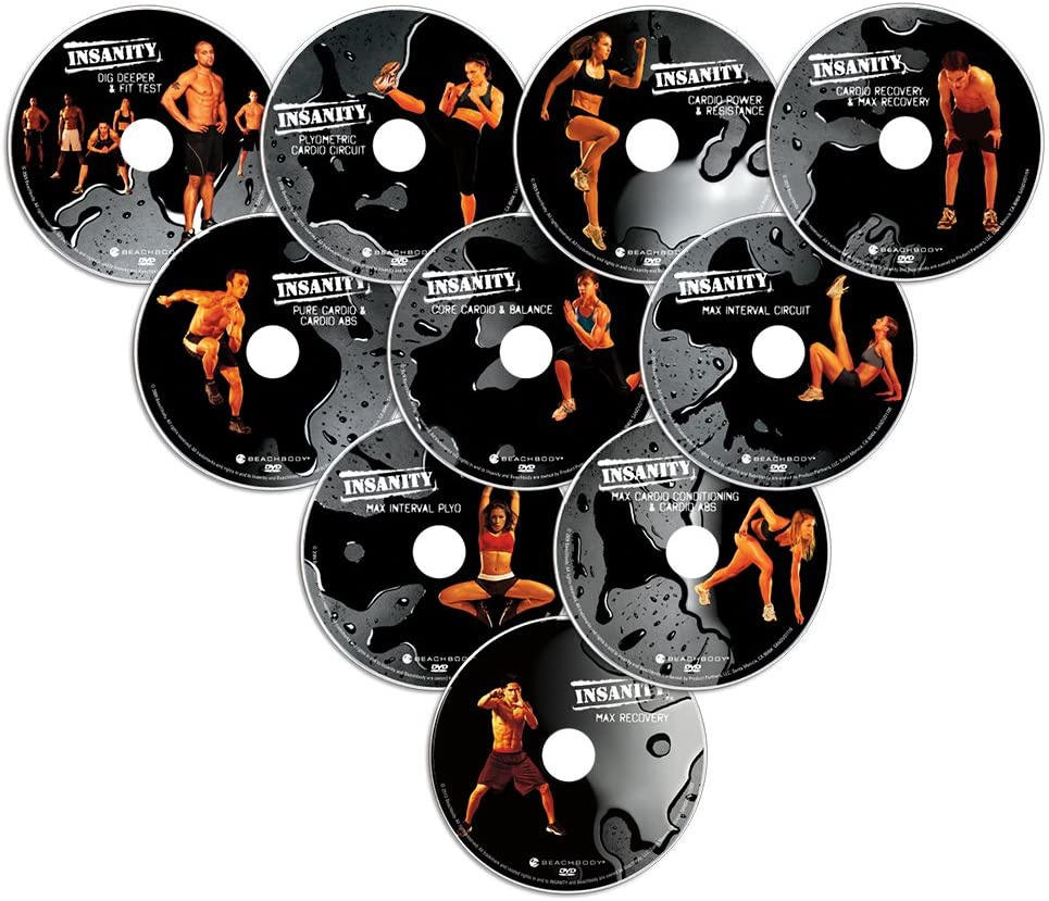Beachbody(ビーチボディ) Insanity: The Ultimate Cardio Workout and Fitness DVD Programme.の商品画像2
