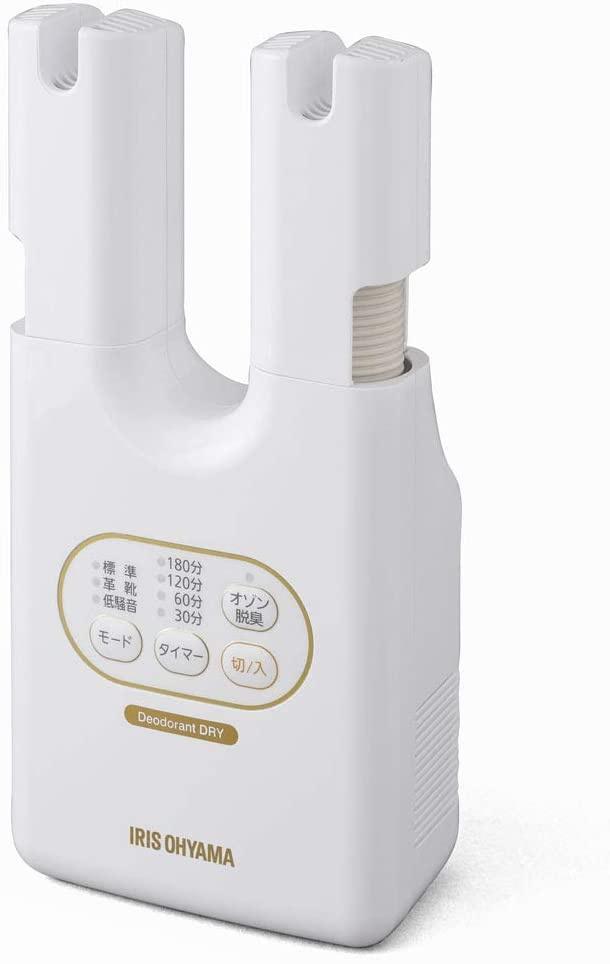 IRIS OHYAMA(アイリスオーヤマ) 脱臭くつ乾燥機 カラリエ ホワイト SD-C2の商品画像