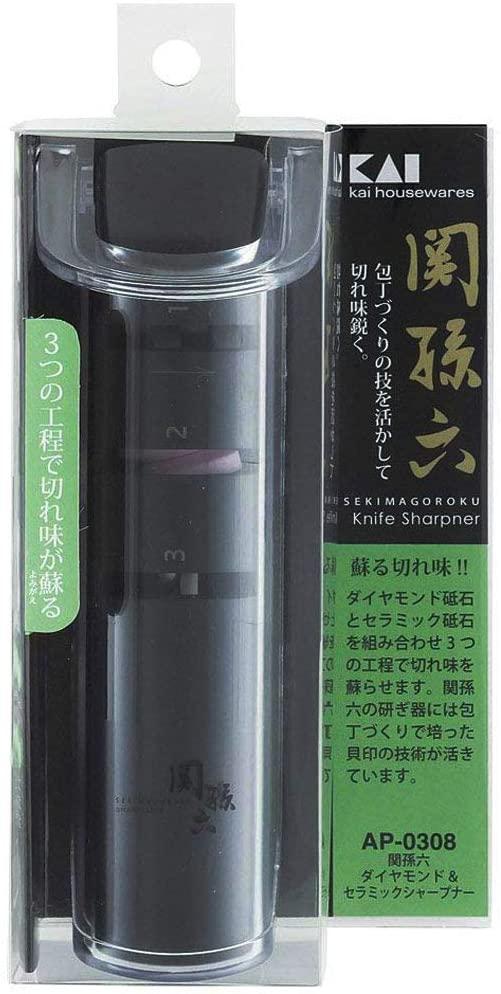 関孫六(セキノマゴロク)ダイヤモンド&セラミックシャープナー AP0308の商品画像8