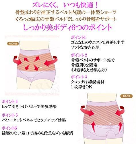 室伏由佳プロデュース(ムロフシユカプロデュース)骨盤ベルトINショーツの商品画像5