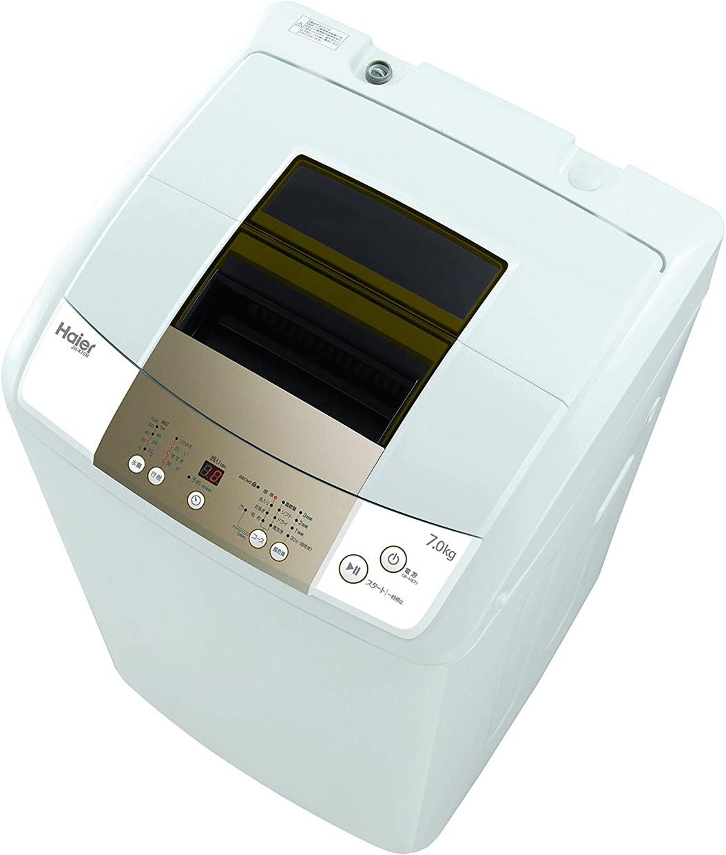 Haier(ハイアール) 全自動洗濯機 JW-K70Mの商品画像