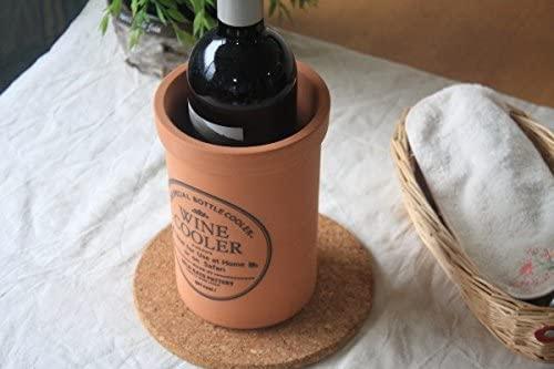 セラポッケ 陶器製ワインクーラー ts-0003 ブラウンの商品画像2