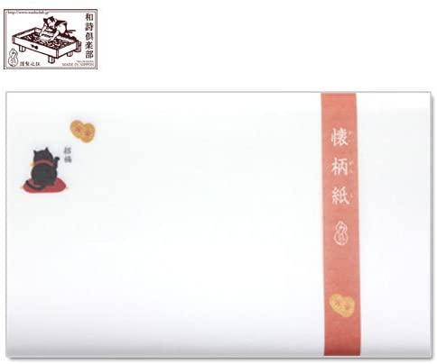 和詩倶楽部(ワシクラブ) 懐柄紙 招き猫 30枚  KG-044の商品画像