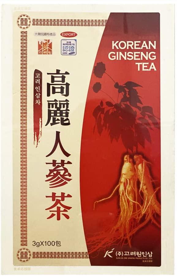 高麗元人参 高麗人参茶の商品画像