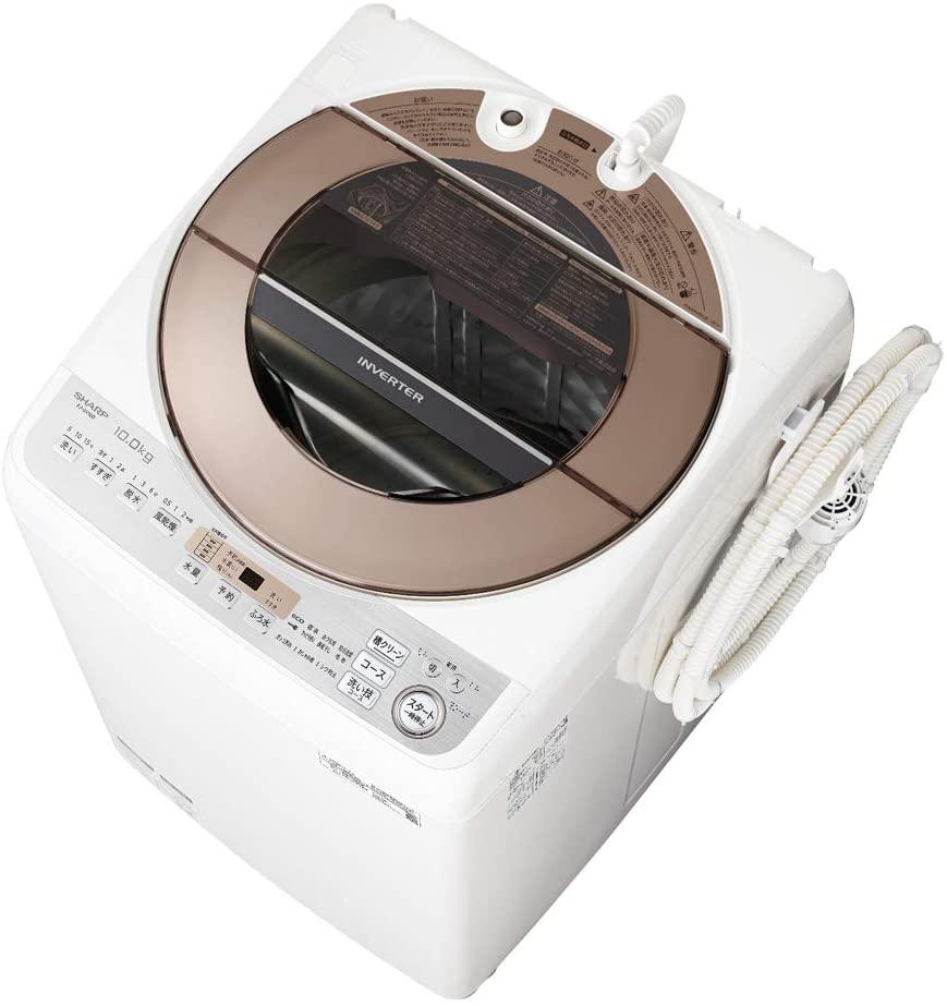SHARP(シャープ) 全自動洗濯機 ES-GV10Dの商品画像