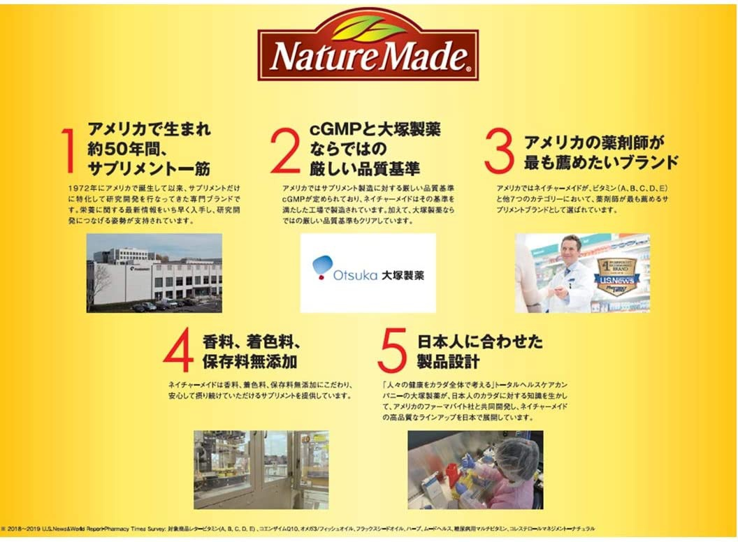 Nature Made(ネイチャーメイド) ビタミンCの商品画像7