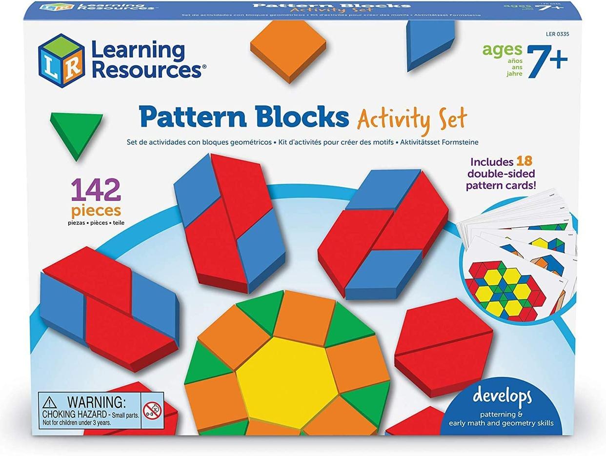 Learning Resources(ラーニングリソーシズ) パターンブロックの商品画像10