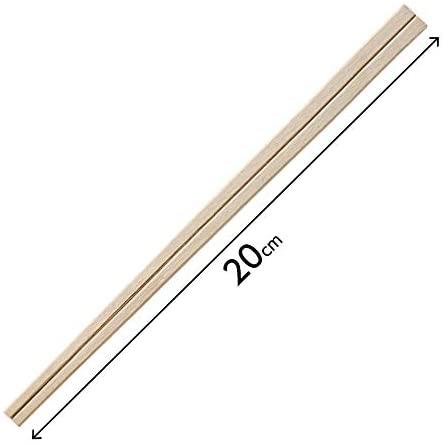 HouseLab(ハウスラボ)元禄割箸 袋入り 100膳 AR-002 20.5cmの商品画像4
