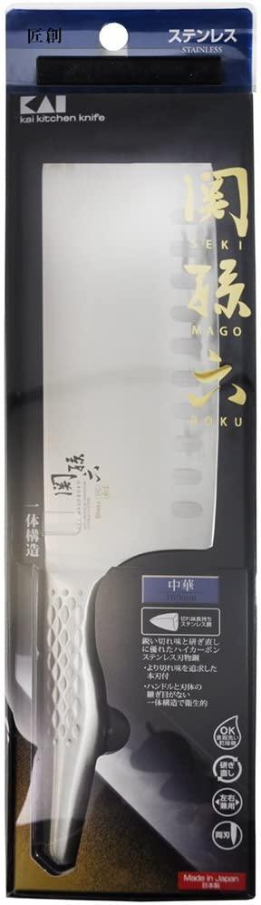 関孫六 匠創(セキノマゴロク ショウソウ) 中華包丁 165mm AB5165の商品画像4