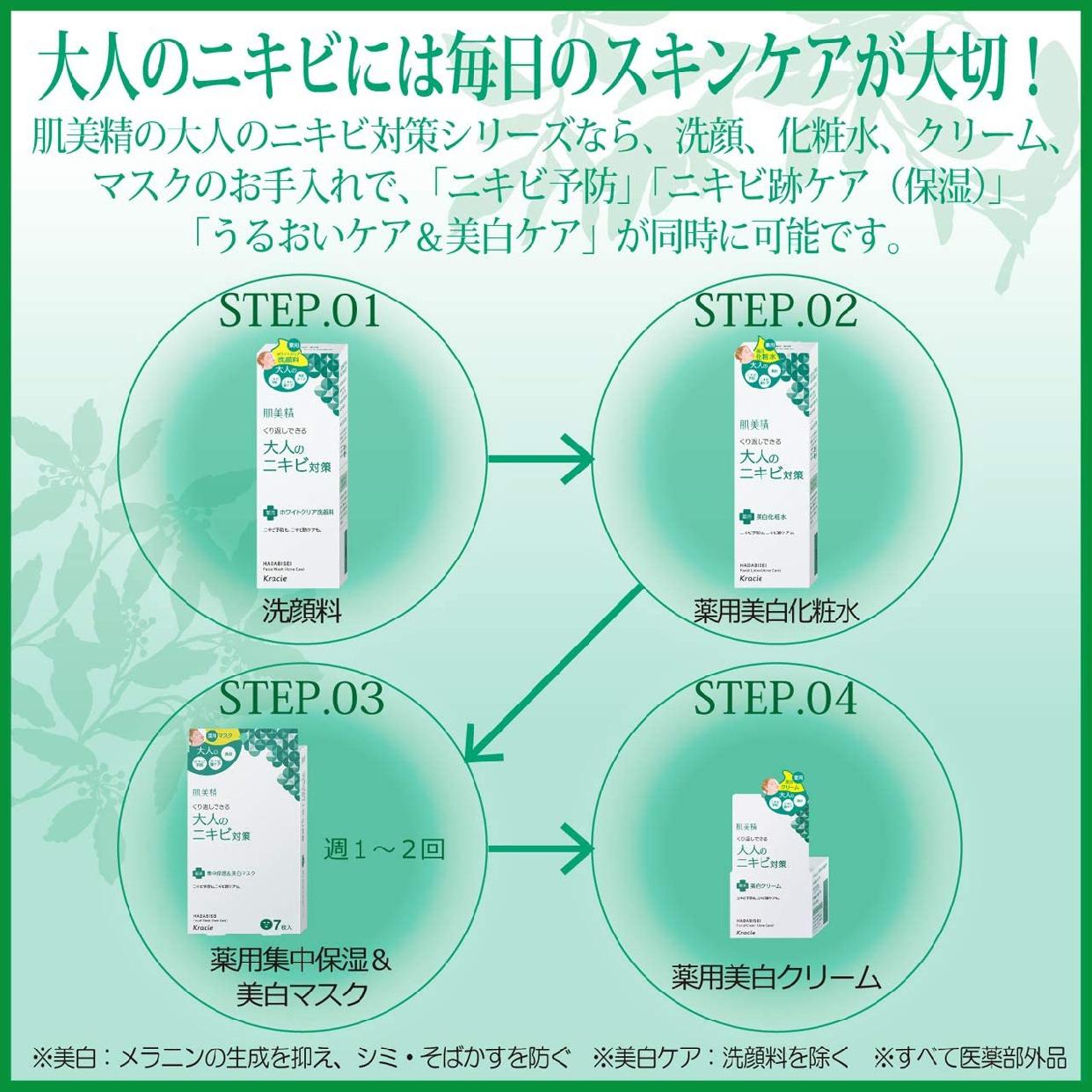 肌美精(HADABISEI) 大人のニキビ対策 薬用美白化粧水の商品画像13