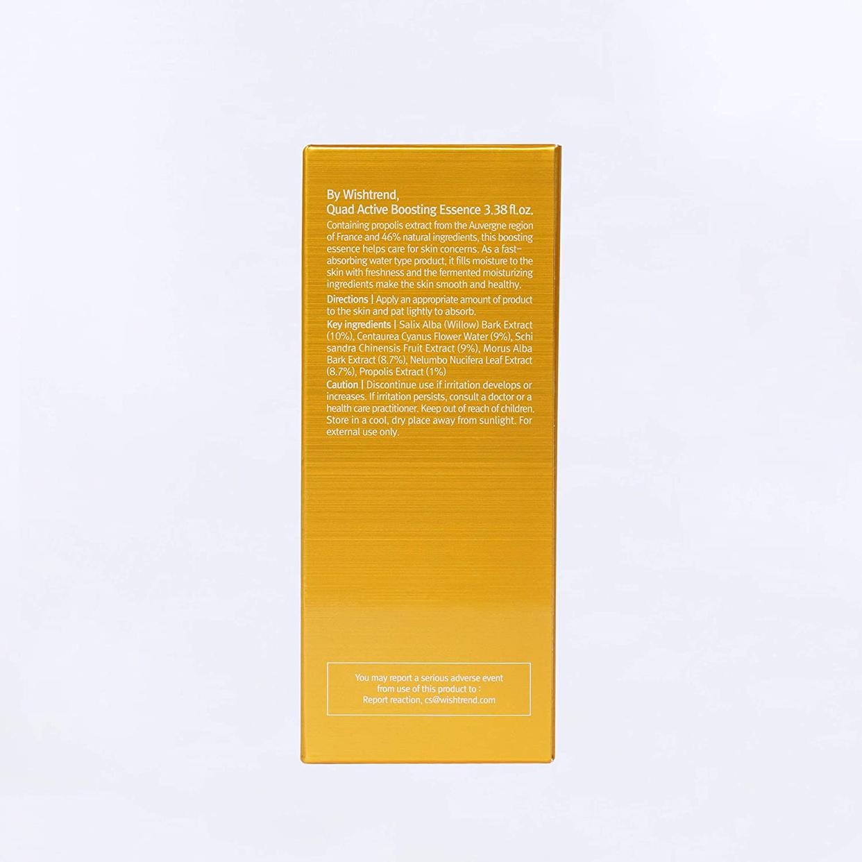 BY WISHTREND(バイウィッシュトレンド) クアッドアクティブブースティングエッセンスの商品画像2