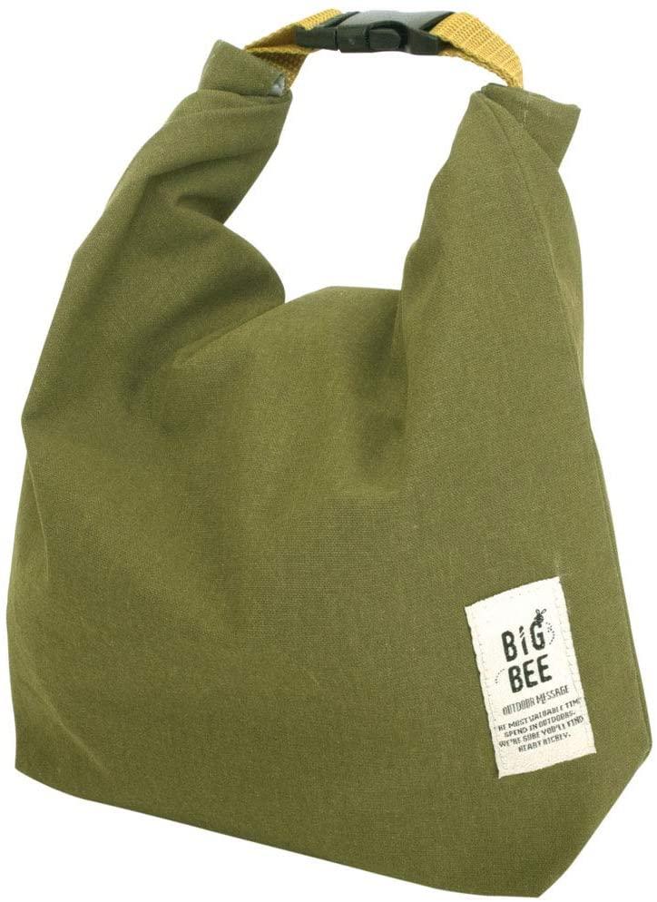 OKATO(オカトー)BIGBEE 保冷ランチバッグ オリーブグリーンの商品画像3
