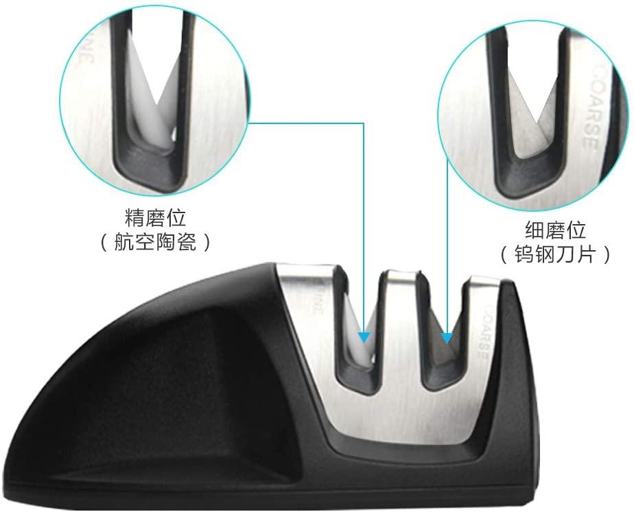 hanmir 研ぎ器 シャープナー 10.8 x 6.6 x 5 cmの商品画像3