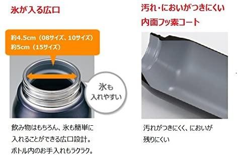 象印(ZOJIRUSHI) クール スポーツボトル 1.0L SD-FA10-BGの商品画像7