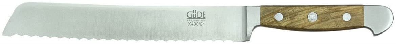 Gude(ギューデ) AlphaOlive ブレッドナイフ シルバーの商品画像