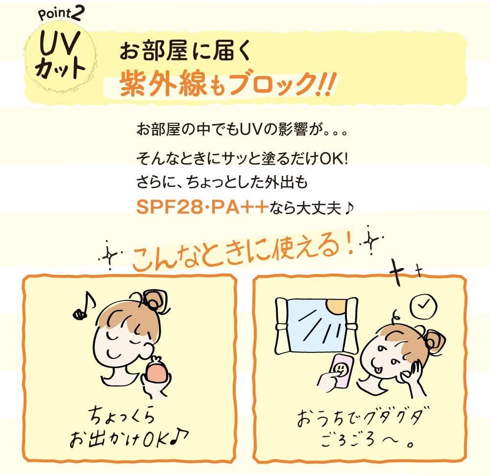 ZuboLabo(ズボラボ) 休日用乳液 UVの商品画像6