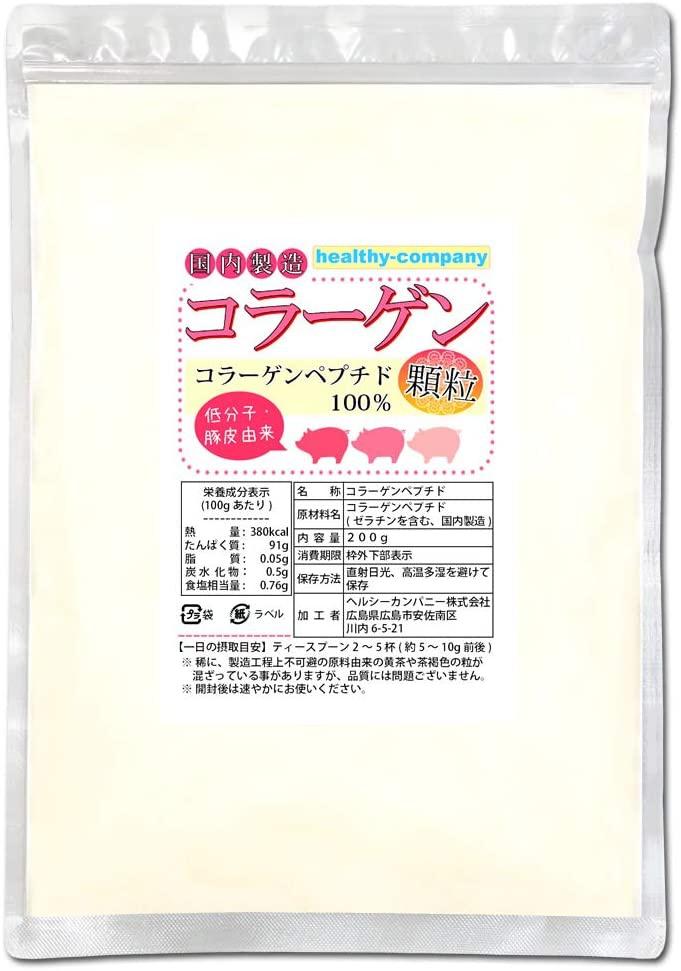 ヘルシーカンパニー コラーゲン100%顆粒の商品画像