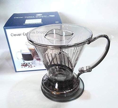 Clever(クレバー) コーヒードリッパー 半透明ブラック Lサイズの商品画像