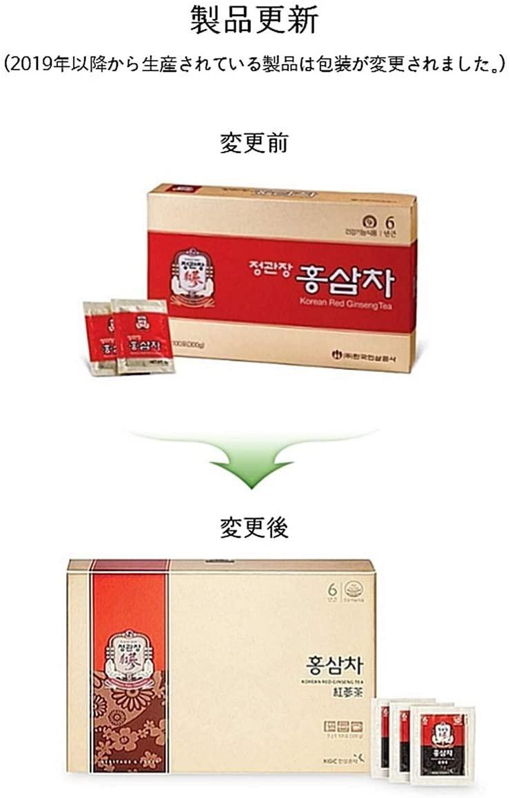 正官庄 紅参茶の商品画像2