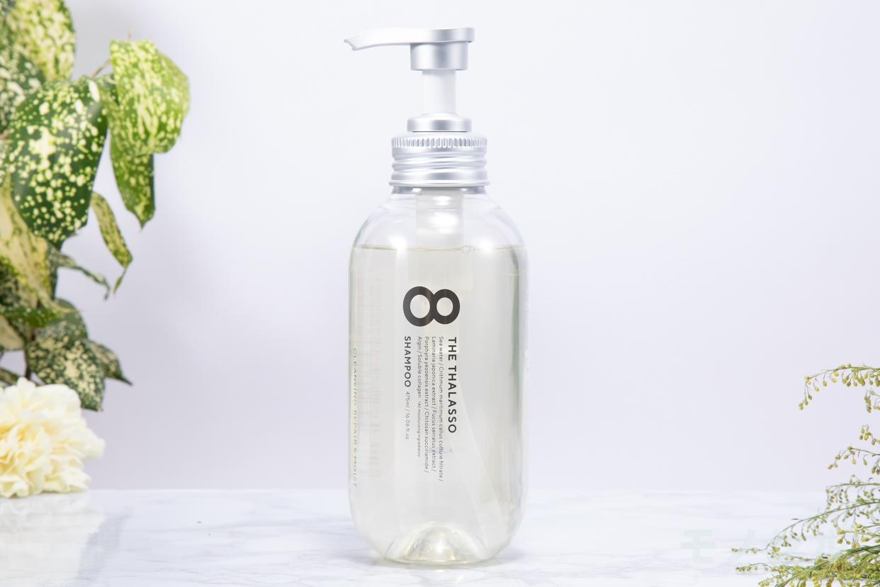 8 THE THALASSO(エイトザタラソ)クレンジングリペア&モイスト 美容液シャンプーの商品の正面画像