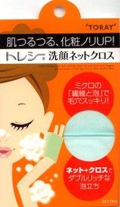 Toraysee(トレシー)洗顔ネットクロスの商品画像