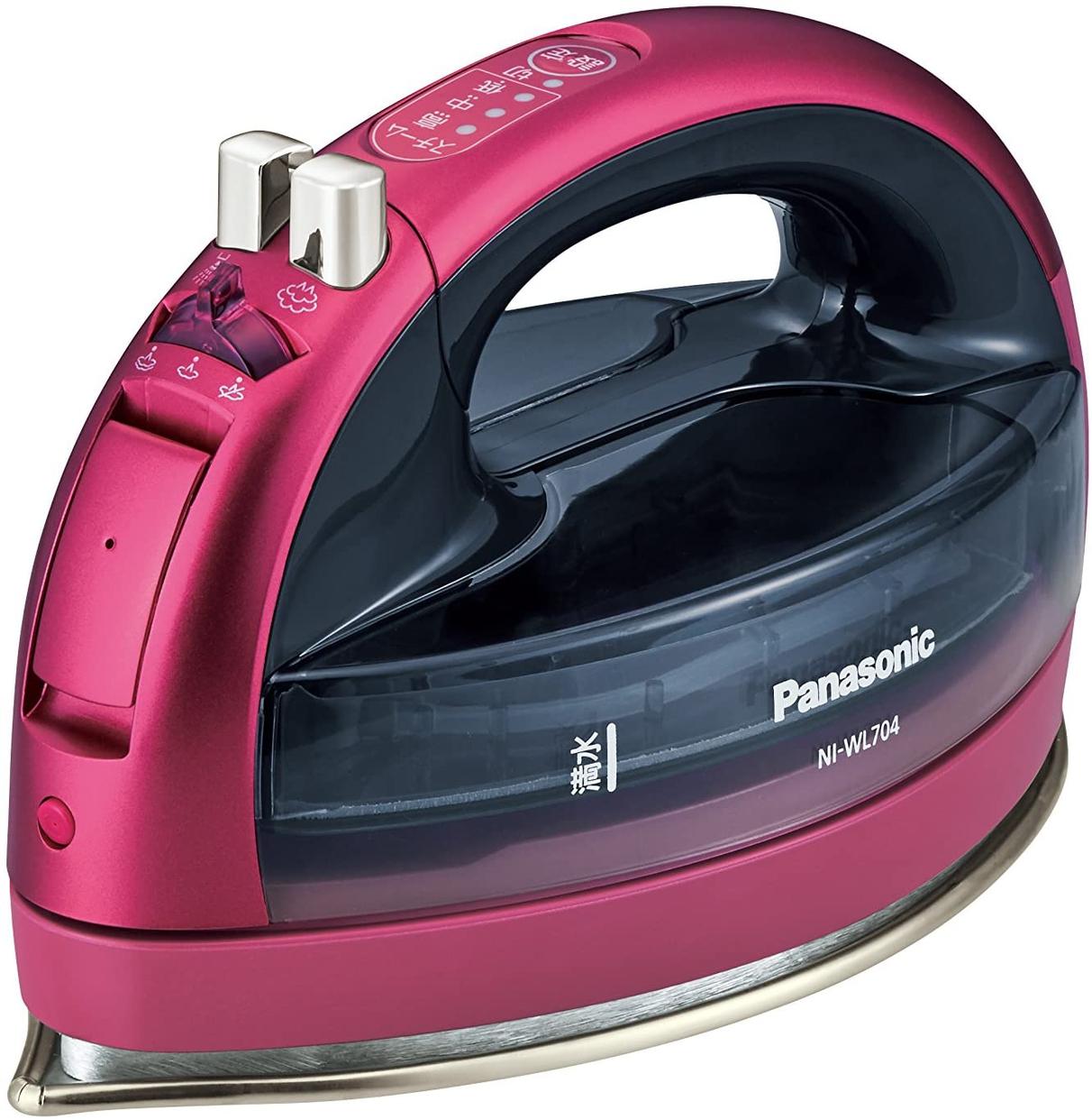 Panasonic(パナソニック) コードレススチームアイロン NI-WL704の商品画像