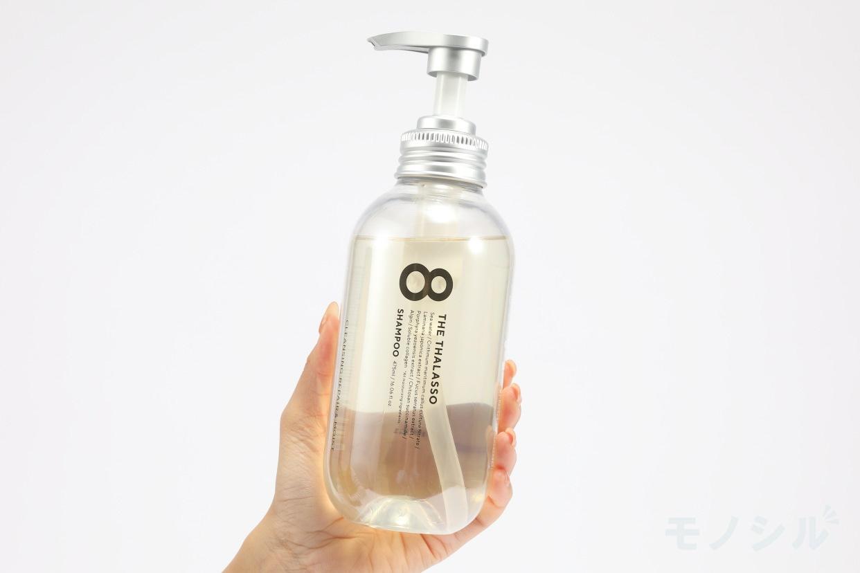 8 THE THALASSO(エイトザタラソ) クレンジングリペア&モイスト 美容液シャンプーの商品画像2 手持ちの商品画像