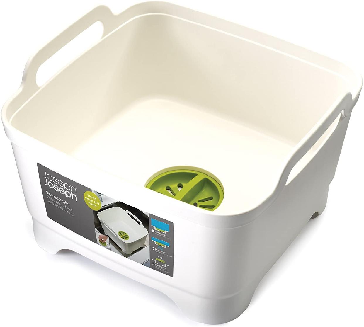 Joseph Joseph(ジョセフジョセフ) ウォッシュ&ドレイン / 洗い桶 ホワイト 850550の商品画像2