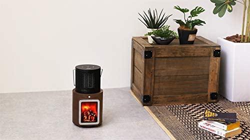 PRISMATE(プリズメイト) 人感センサー付 暖炉ヒーター PR-WA010の商品画像3