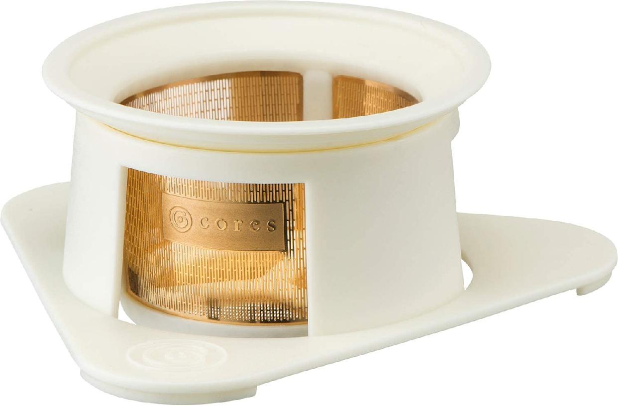 cores(コレス) シングルカップゴールドフィルター C211WH ホワイトの商品画像