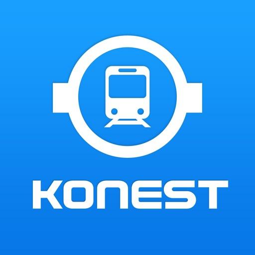 konest(コネスト) コネスト韓国地下鉄路線図・乗換検索の商品画像
