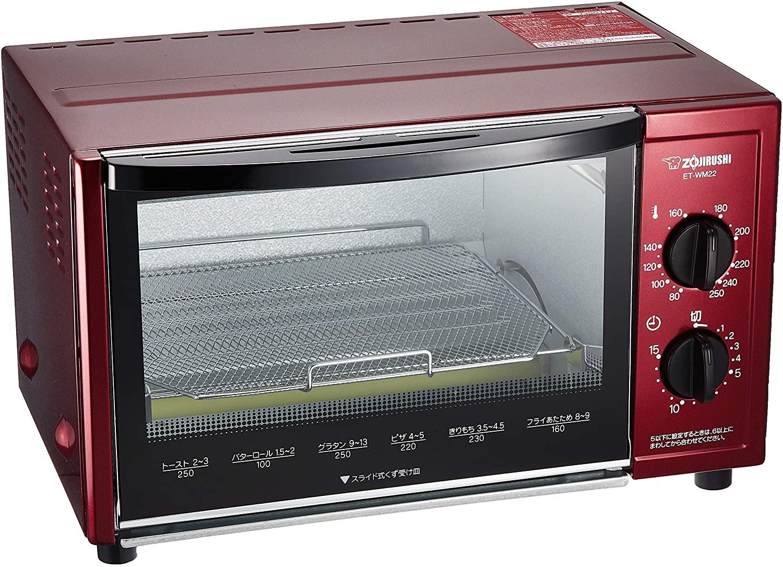 象印(ZOJIRUSHI) オーブントースターこんがり倶楽部ET-WM22の商品画像