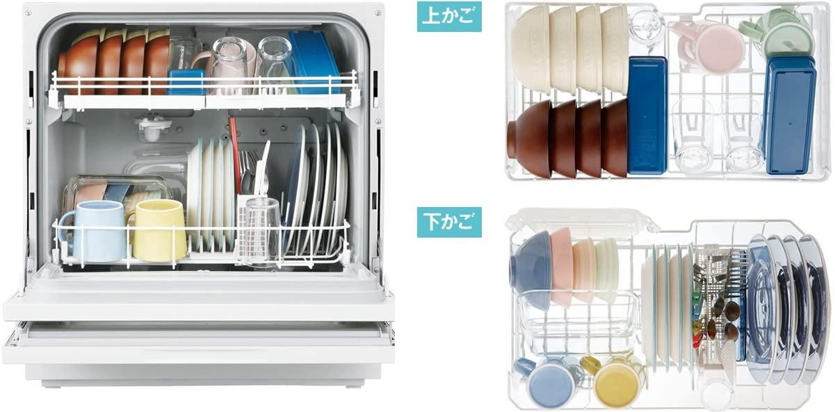 Panasonic(パナソニック) 食器洗い乾燥機 NP-TH1-W(ホワイト)の商品画像9