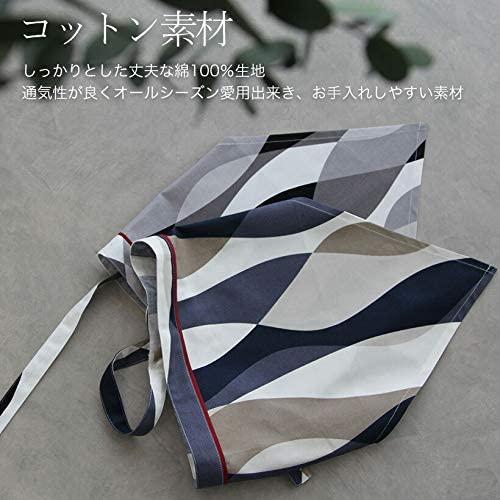 エプロンストーリー(Apron Story) 三角巾 (ウェーブ) SA0024の商品画像8