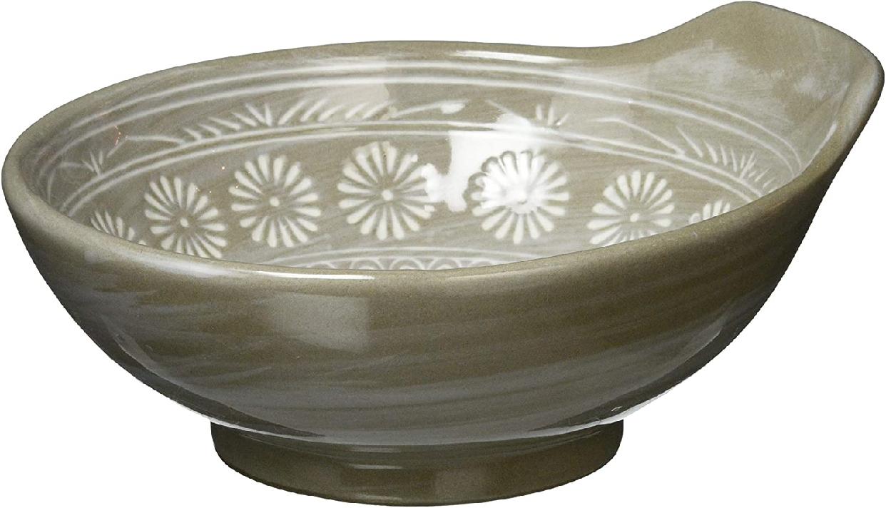 銀峯陶器 萬古焼 とんすい 花三島の商品画像