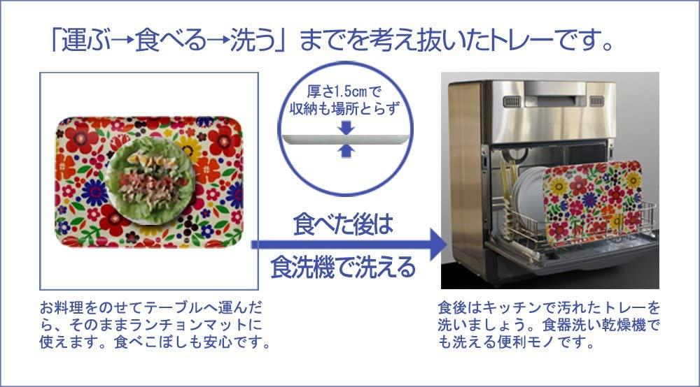 Tatsu-craft(タツクラフト)SR ランチョントレー S 丸の商品画像5