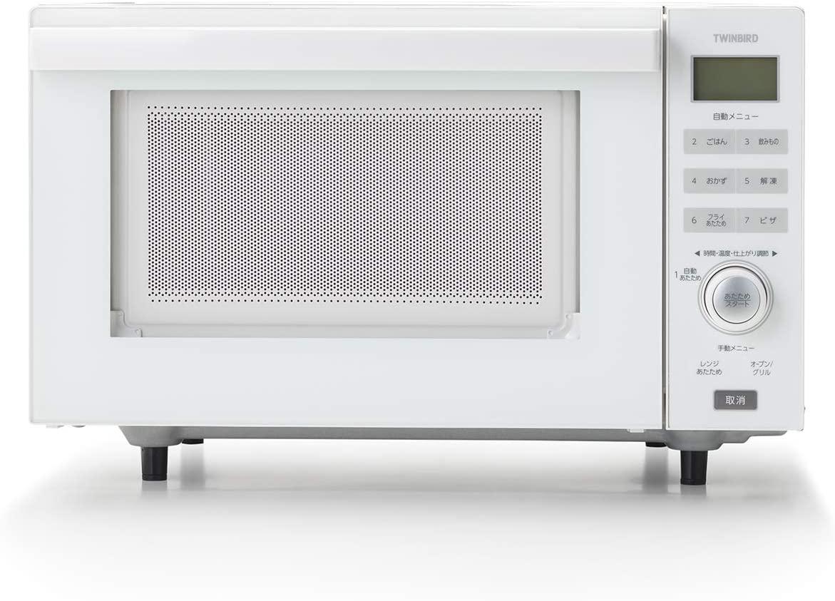 TWINBIRD(ツインバード) センサー付フラットオーブンレンジ DR-E852Wの商品画像