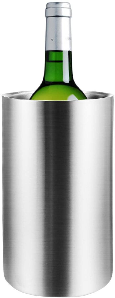 Voocye(ヴォッシー) 二重 ワインクーラー ステンレスの商品画像