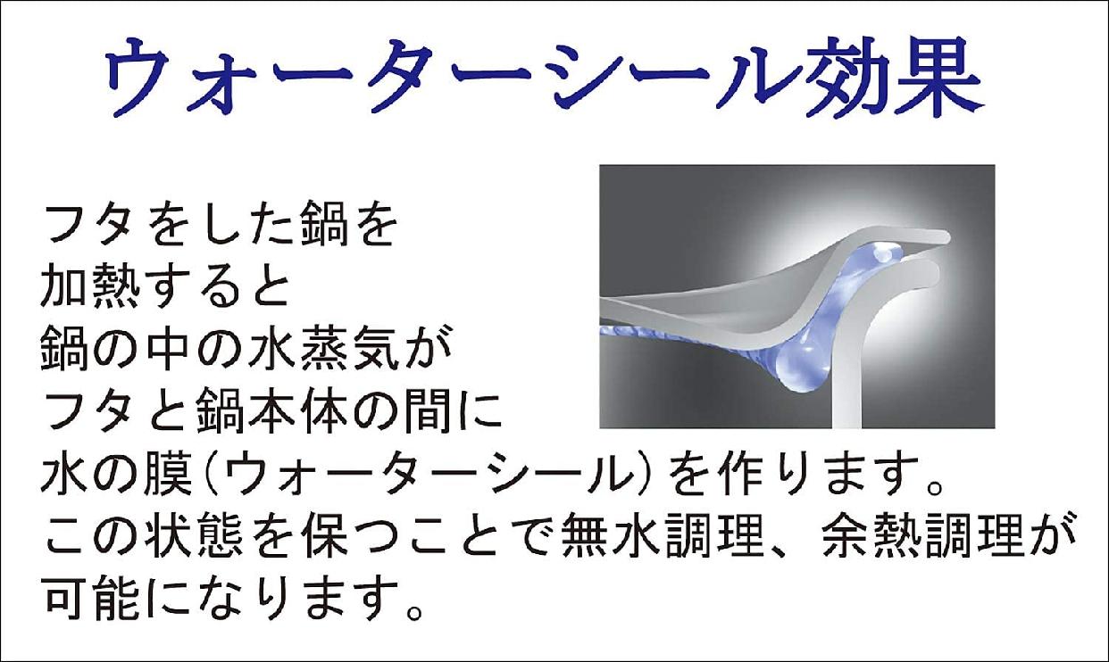 GEO Product(ジオ・プロダクト) 浅型両手鍋 22cm GEO-22Sの商品画像4