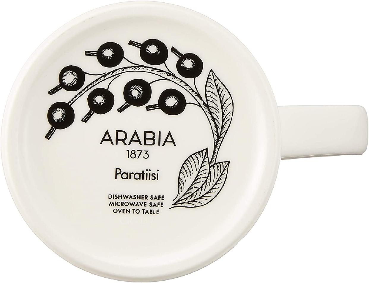 ARABIA(アラビア) パラティッシ ブラック マグの商品画像4