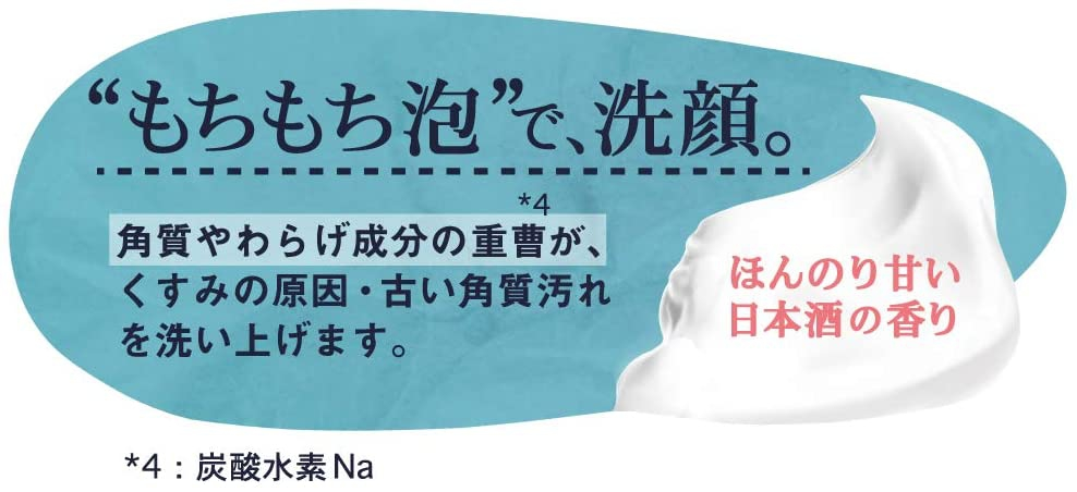 ペリカン石鹸(PELICAN SOAP) 米麹まるごとねり込んだ洗顔石けんの商品画像6