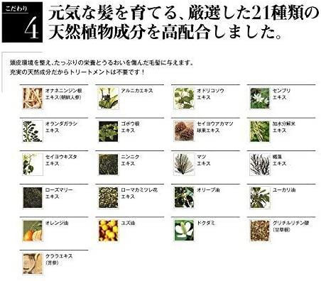 &GINO(アンドジーノ)頭皮ケア プレミアムブラックシャンプーの商品画像15