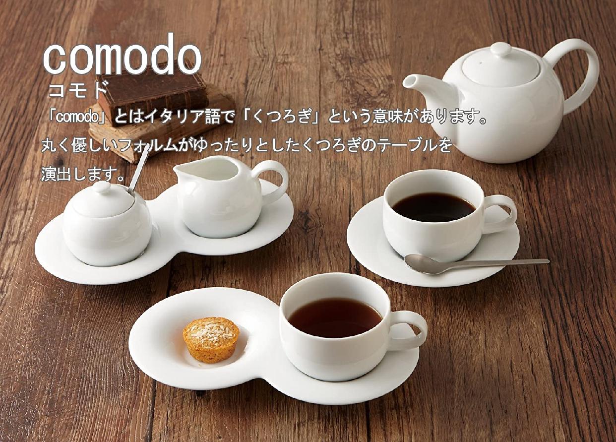 comodo(コモド)ミルクピッチャー 白 P27301の商品画像7