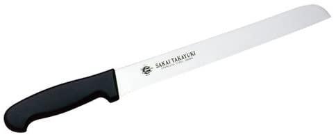 青木刃物製作所 PC柄 サンドイッチナイフ(直刃) シルバーの商品画像