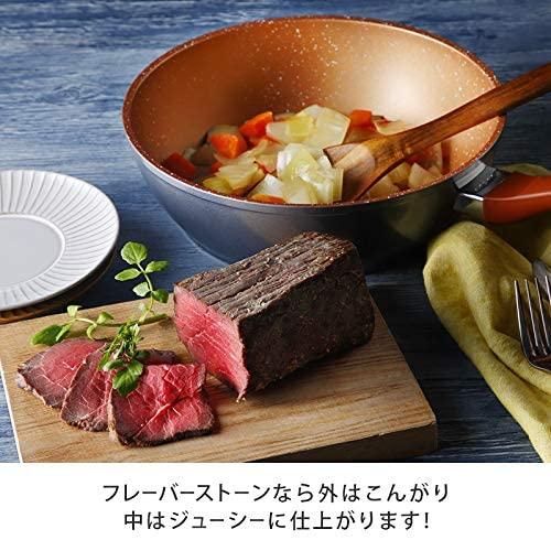 Flavor Stone(フレーバーストーン)鍋フライパン4点セット ブロンズゴールドの商品画像7